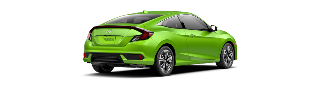 2017 Honda Civic Coupe Rear Angle