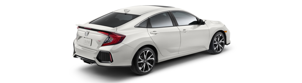 2017 Honda Civic Si Sedan Rear Angle