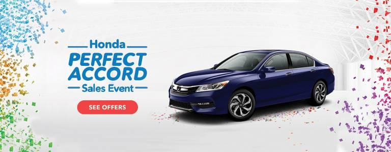 New England Honda Perfect Accord Sales Event