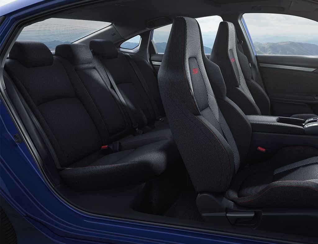 2017 Honda Civic Si Sedan Side Interior View