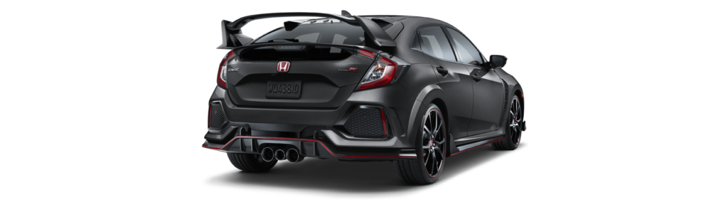2017 Honda Civic Type R Rear Angle