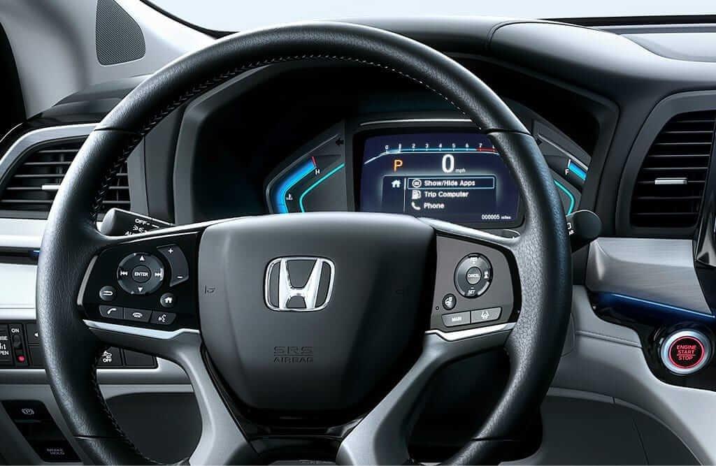 2018 Honda Odyssey Bluetooth Handsfree Controls