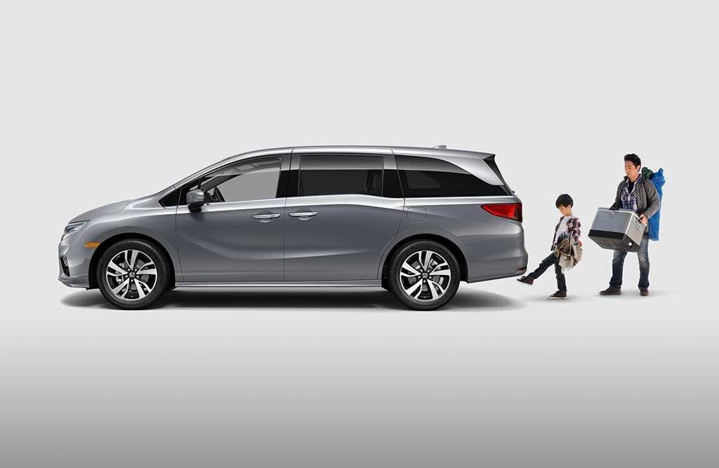 2018 Honda Odyssey Hands Free Tailgate