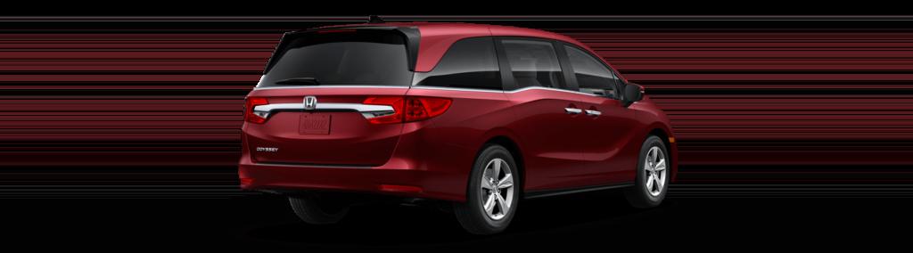 2018 Honda Odyssey Rear Angle