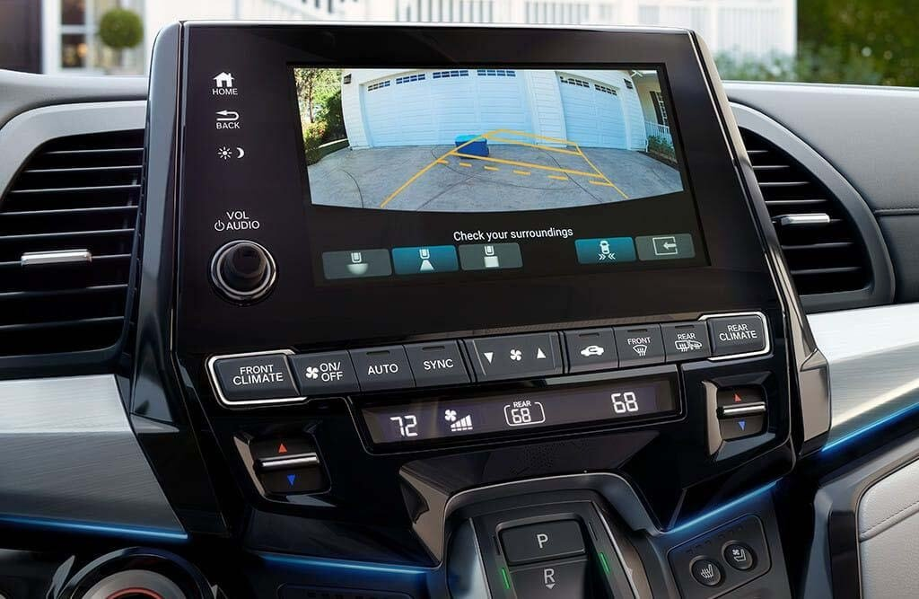 2018 Honda Odyssey Rearview Camera
