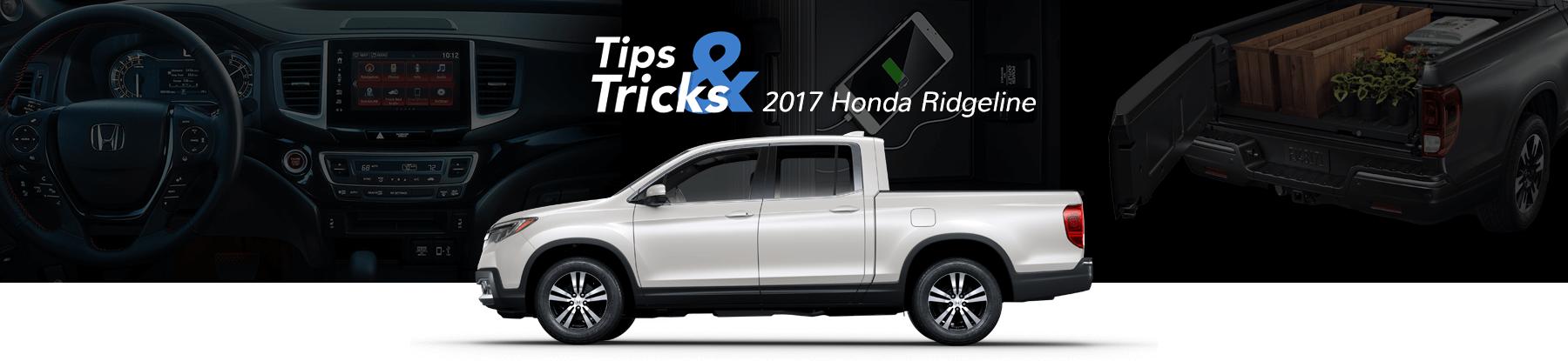 Honda Ridgeline Tips & Tricks Banner
