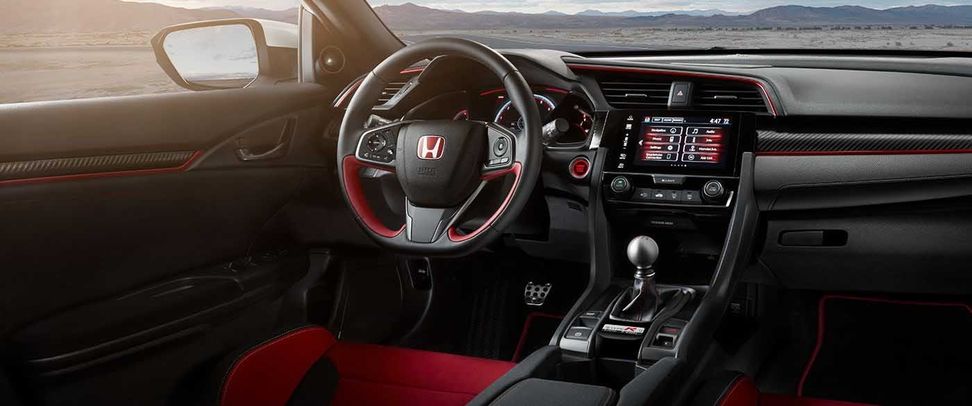 2017 Honda Civic Type R 7in Display Screen