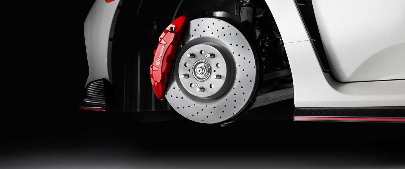 2017 Honda Civic Type R Adaptive Damper System