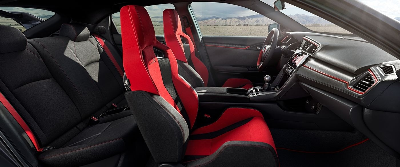 2017 Honda Civic Type R Interior Side View