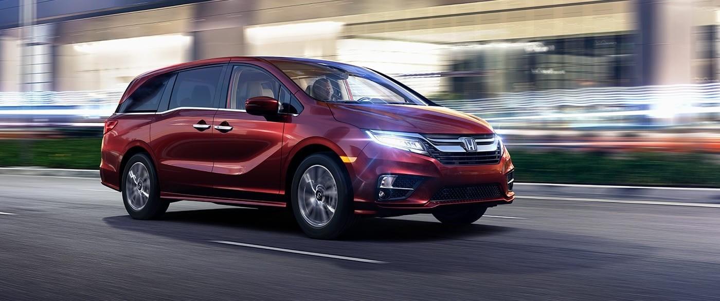 2018 Honda Odyssey Auto Beam Headlights