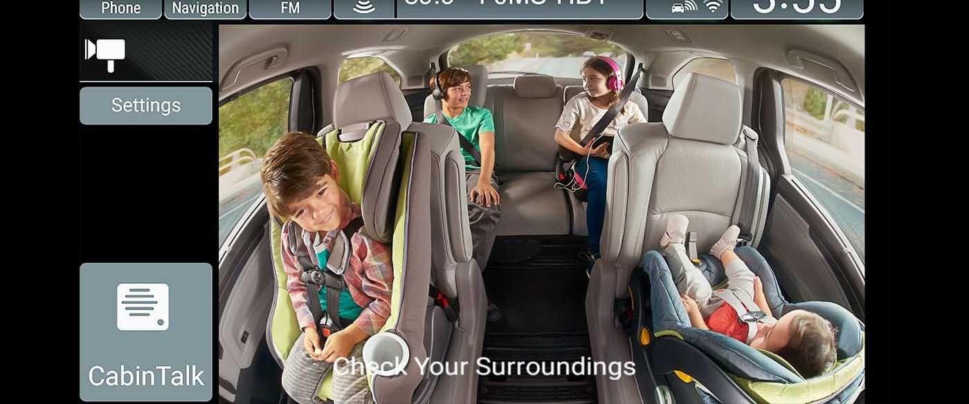 2018 Honda Odyssey Cabine Watch Screen
