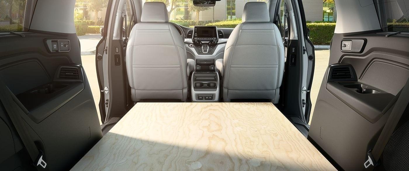 2018 Honda Odyssey Cargo Space