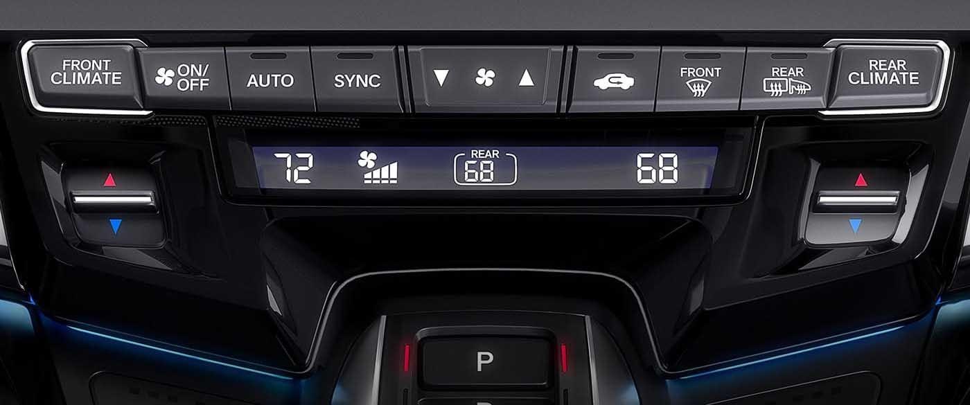 2018 Honda Odyssey Climate Control