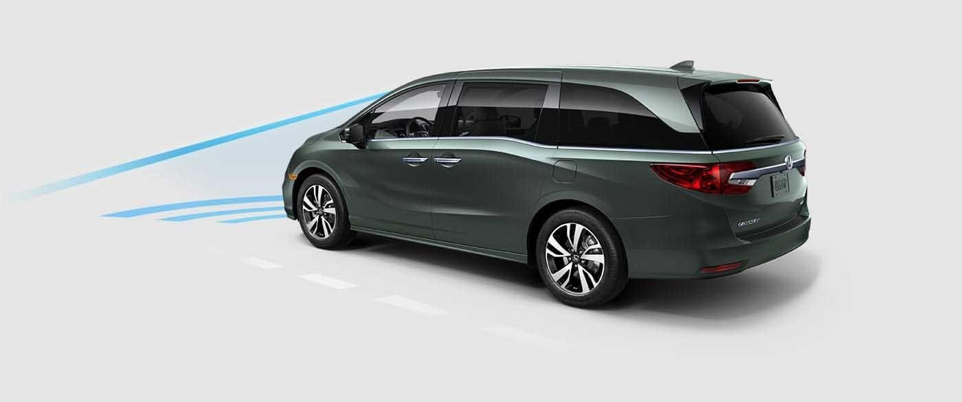 2018 Honda Odyssey Collision Mitigation Braking System