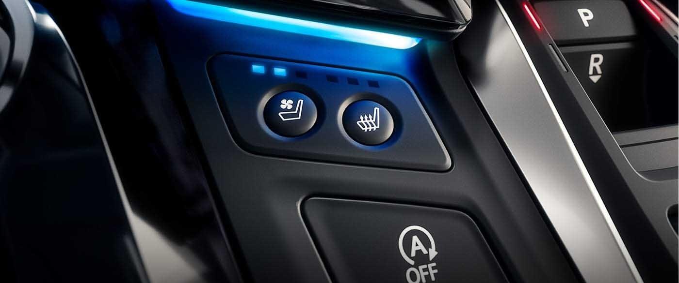 2018 Honda Odyssey Heated & Cooled Seats