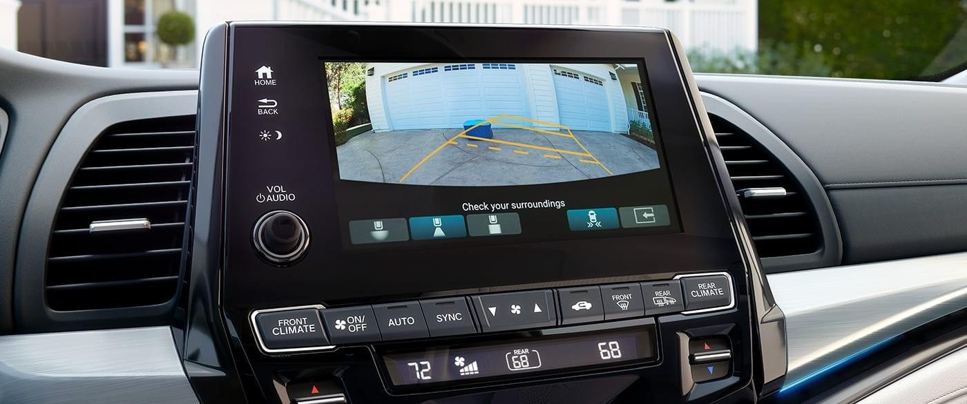 2018 Honda Odyssey Multi Angle Rearview Camera