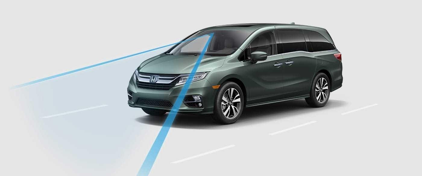 2018 Honda Odyssey Road Departure Mitigation System