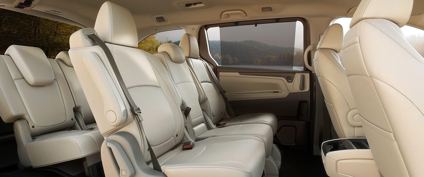 2018 Honda Odyssey Sun Shades