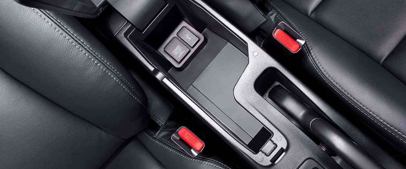 Honda Fit Center Console USB Connections