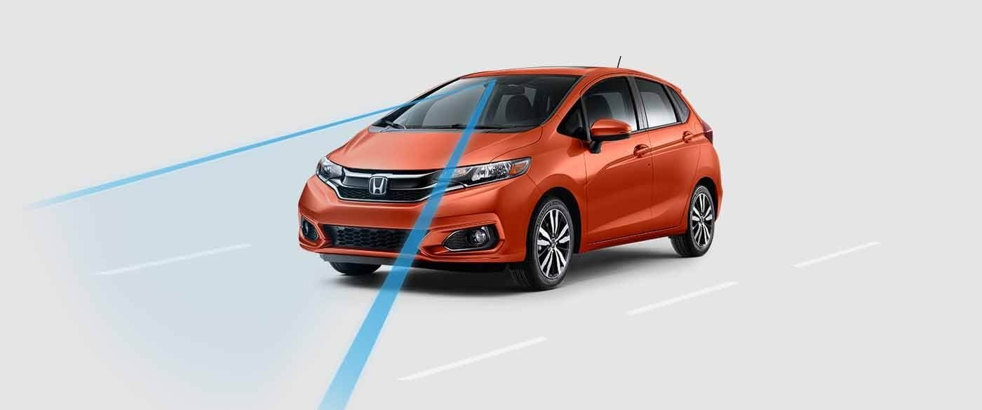 Honda Fit Lane Keeping Assist