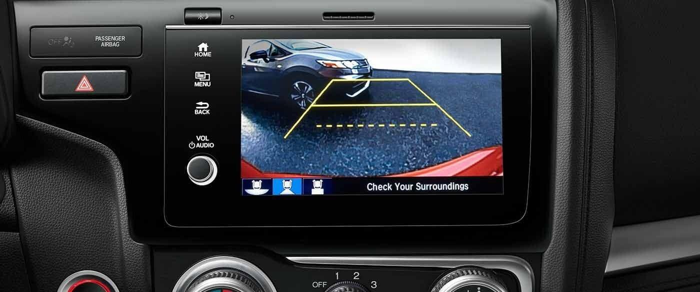 Honda Fit Rearview Camera