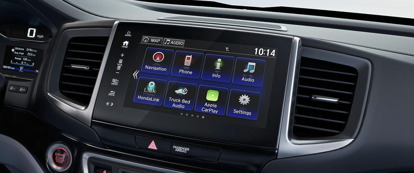 Honda Ridgeline Display Screen