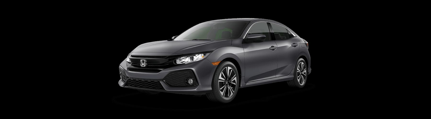 2018 Honda Civic Hatchback Front Angle