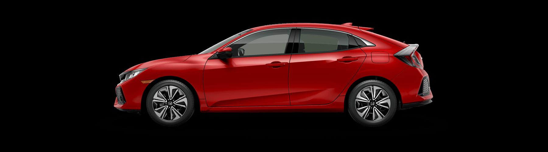 2018 Honda Civic Hatchback Side Profile