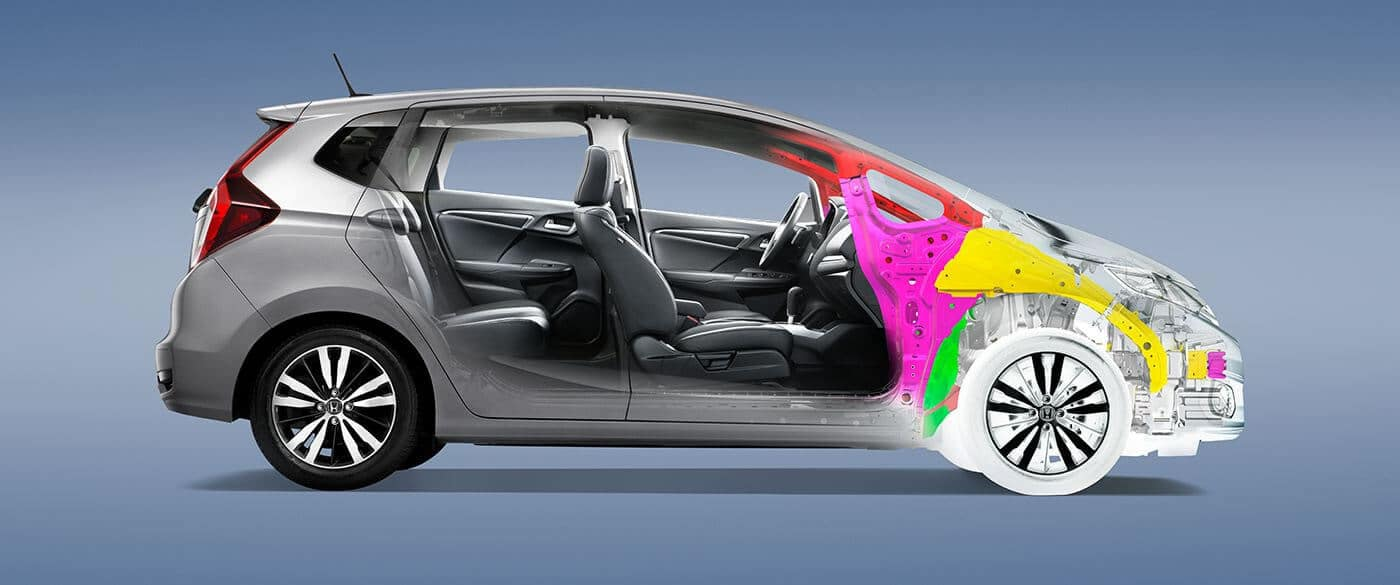 2018 Honda Fit Body Structure