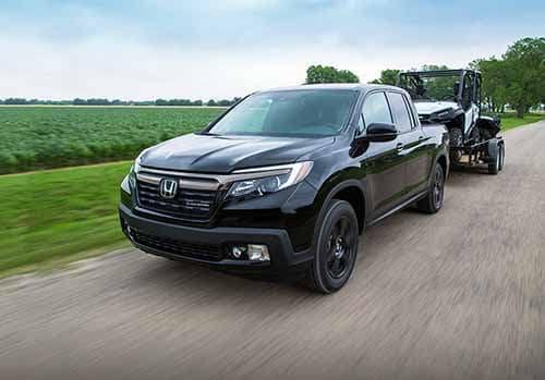 Honda Ridgeline Towing Capability