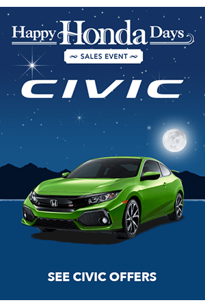 Happy Honda Days 2017 Civic Offers