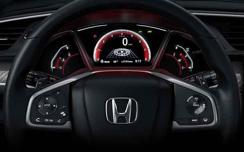 2018 Honda Civic Hatchback Steering Wheel