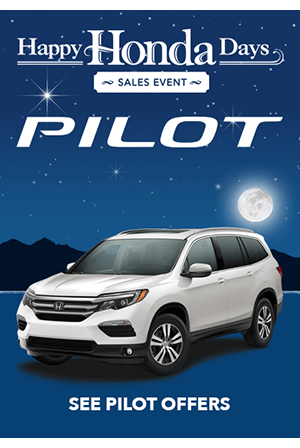 Happy Honda Days 2017 Pilot Offers