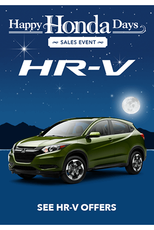 Happy Honda Days 2018 HR-V Offers