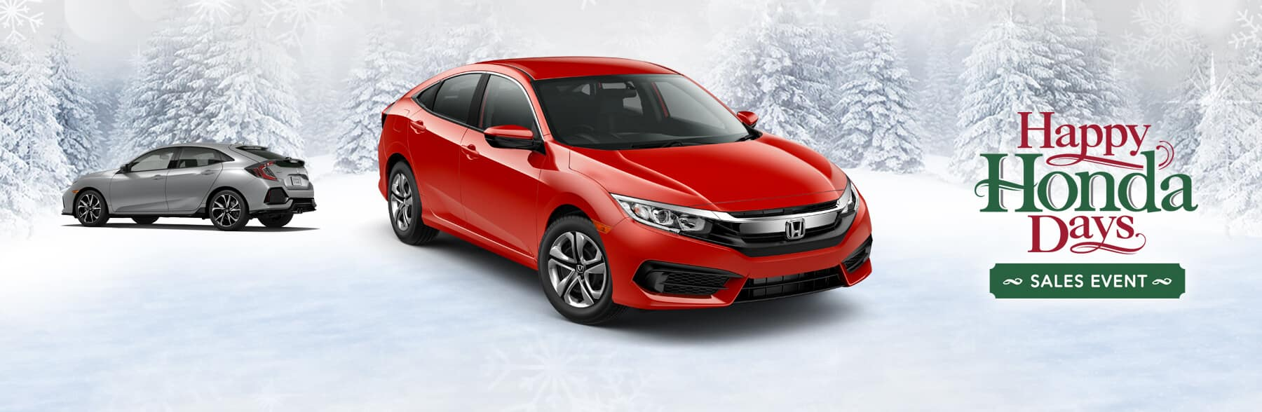 Happy Honda Days Civic Banner