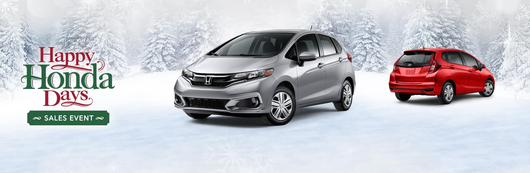 Happy Honda Days Fit Banner