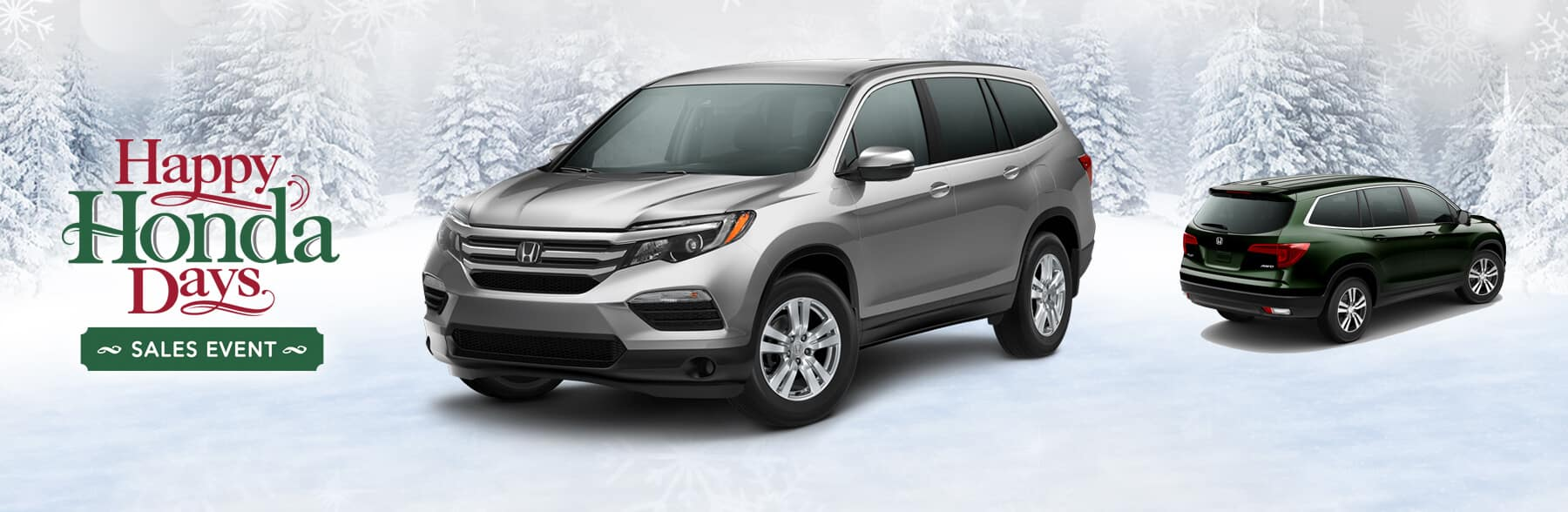 Happy Honda Days Pilot Banner