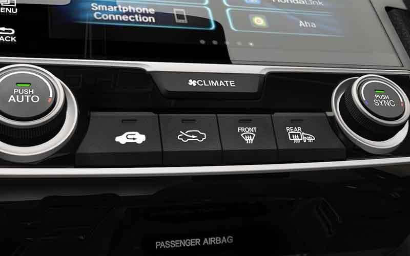Honda Civic Hatchback Automatic Climate Control