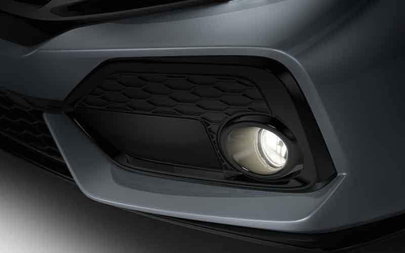 Honda Civic Hatchback Fog Lights