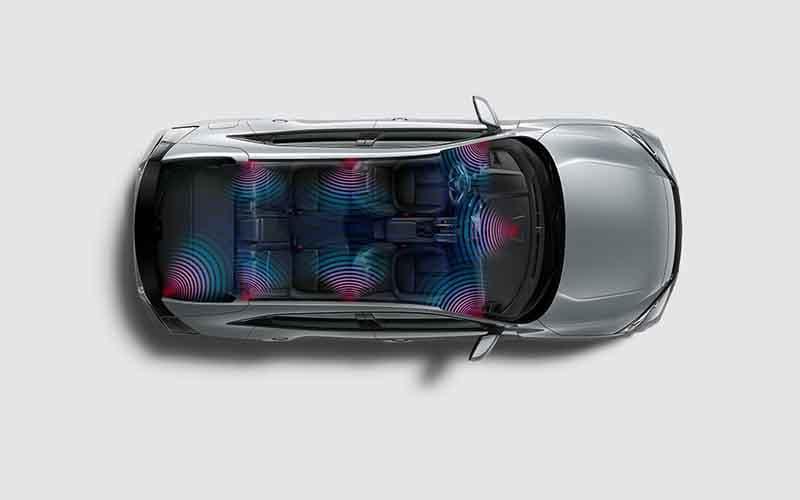 Honda Civic Hatchback Stereo System