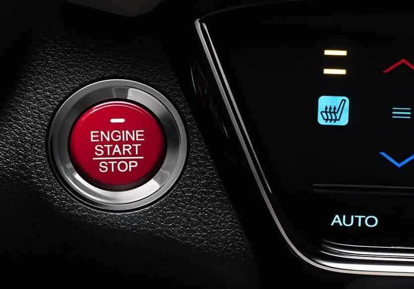 Honda HR-V Push Start Button