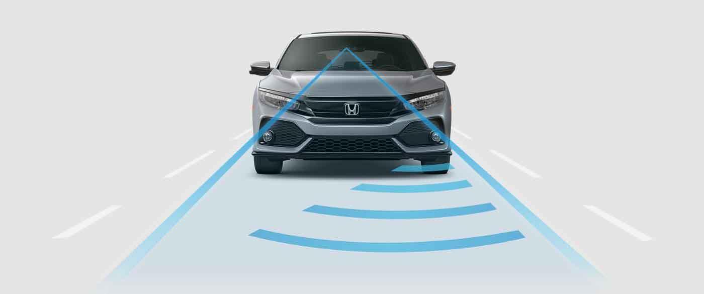 2018 Honda Civic Hatchback Adaptive Cruise Control