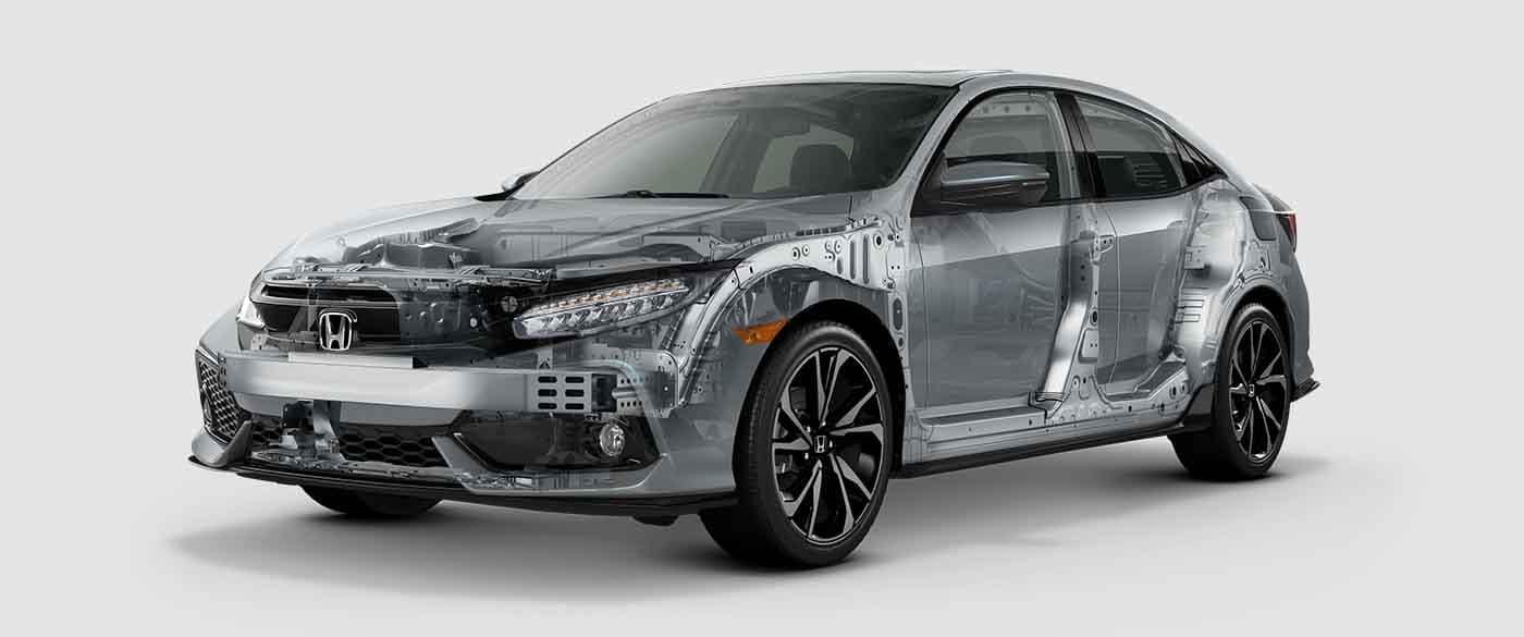 2018 Honda Civic Hatchback Body Structure