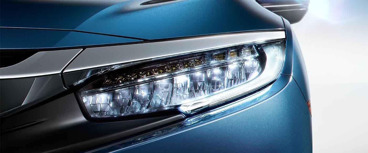 2018 Honda Civic Sedan Daytime Running Lamps