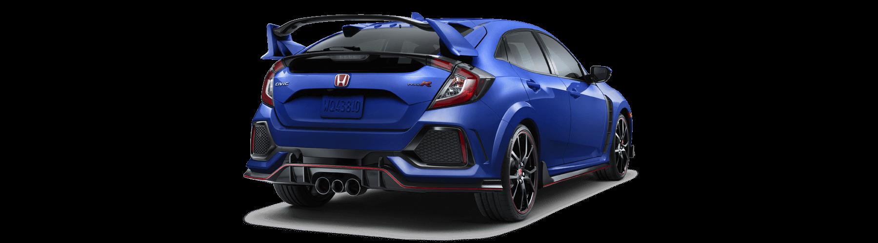 2018 Honda Civic Type R Rear Angle