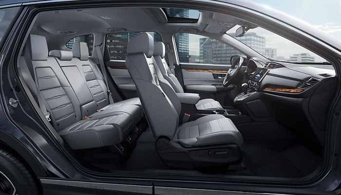 2018 Honda CR-V Interior Passenger Space