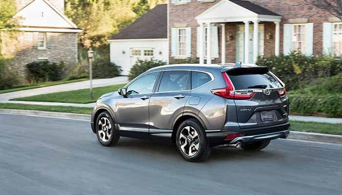 2018 Honda CR-V Towing Capability