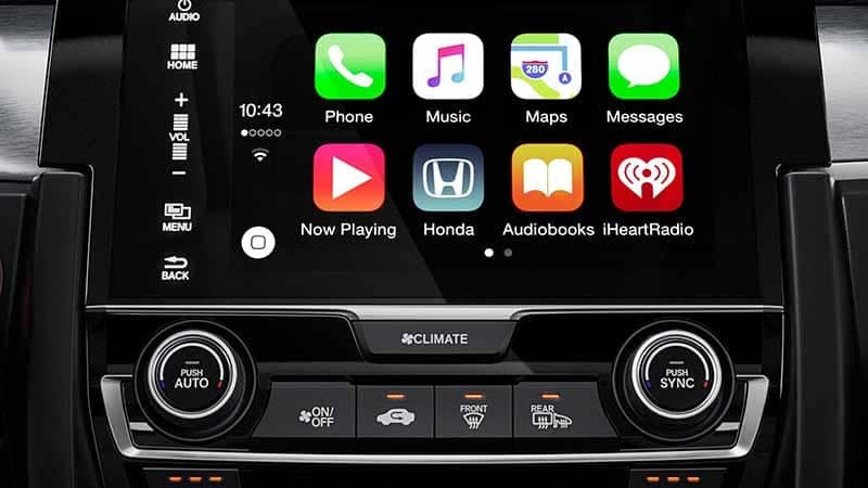 2018 Honda Civic Coupe Apple Carplay