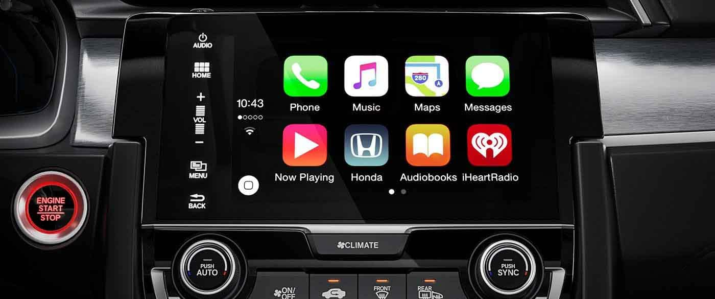 2018 Honda Civic Coupe Apple Carplay
