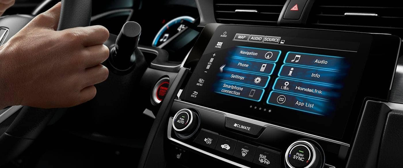 2018 Honda Civic Coupe Automatic Climate Control